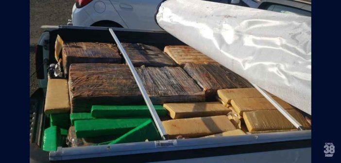 Polícia apreende 1,4 tonelada de droga em rodovias do Estado