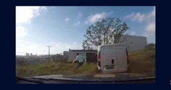 Após 14 km de perseguição e incêndio, PRF prende contrabandista em Londrina (PR); assista