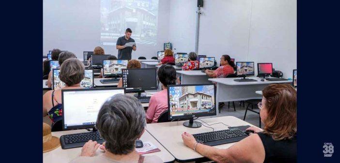 Apucarana oferece Curso de Informática para 3ª idade