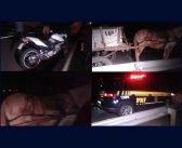 Casal em motocicleta sofre graves ferimentos após bater em carroça na BR-376 em Apucarana