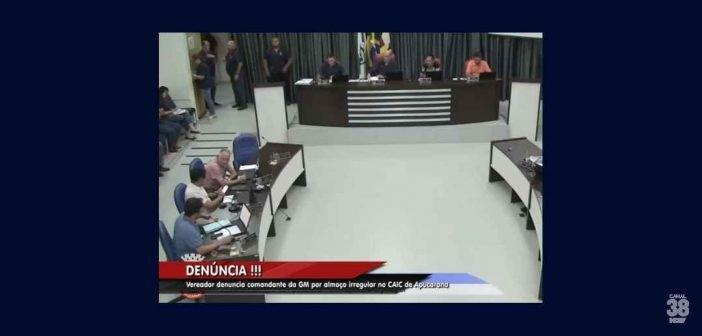 Vereador faz novas denúncias contra comandante da GM de Apucarana