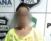 Idosa de 63 anos é presa suspeita de tráfico de drogas