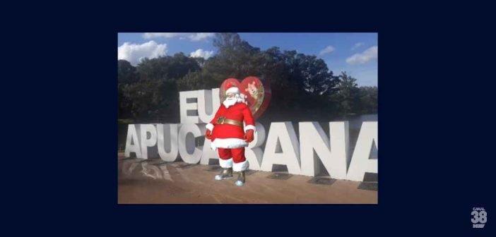 Natal de Apucarana ganha um aplicativo para crianças interagirem com Papai Noel