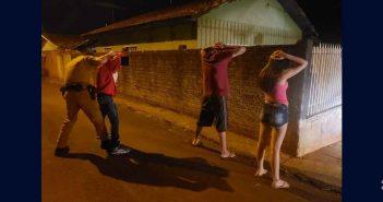 PM aborda 17 pessoa durante Operação Arrastão em Apucarana